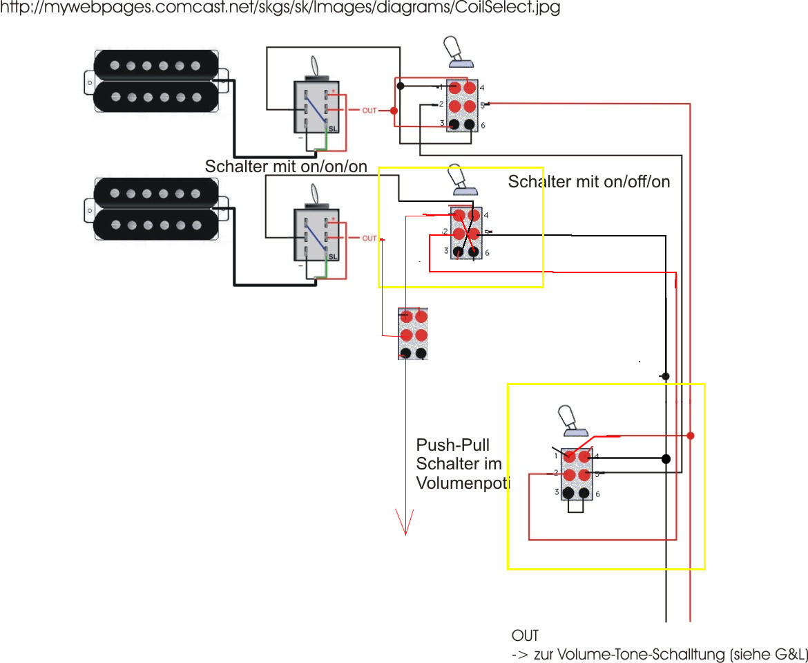 Guitar Wiring Tips Tricks Schematics And Links Humbucker Diagram Obl Gitarre 2